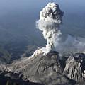 Santiaguito Ash Eruption, Guatemala by Martin Rietze