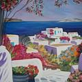 Santorini by Dorota Nowak