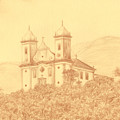 Sao Francisco De Paula Church by Enaile D Siffert