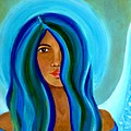 Sapphire Angel by The Art With A Heart By Charlotte Phillips