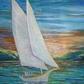 Saturday Sail by Regina Walsh