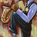 Saxman by Daryl Price