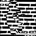 Saxophone Player Or Woman Maze by Yonatan Frimer Maze Artist