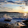 Schoodic Sunset by Scott  Bricker