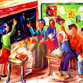 School Days In Morocco by Patricia Rachidi