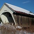 Schoolhouse Covered Bridge by James Walsh