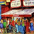 Schwartzs Deli Lineup by Carole Spandau