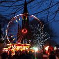 Scot Monument Christmas And Hogmanay Fair Scotland by Heather Lennox
