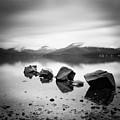 Scotland Lomond Rocks by Nina Papiorek
