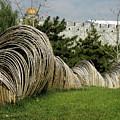 Sculpture In Beijing by Stefania Levi