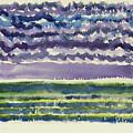 Sea And Sky by Ralph Papa
