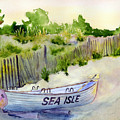 Sea Isle Rescue Boat by Paul Temple