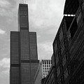 Sears Tower B-w by Ely Arsha