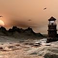 Seascape  A Frozen Morning by John Junek