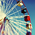 Seaside Ferris Wheel by Denise  Snyder