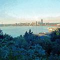 Seattle Skyline 2 by Steve Ohlsen