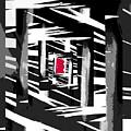 Secret Red Door by Gerlinde Keating - Galleria GK Keating Associates Inc