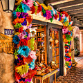 Sedona Tlaquepaque Shopping Center  by Jon Berghoff