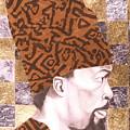 Self Portrait by Malik Seneferu