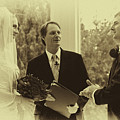 Sepia 2 Wedding Couple Example by David Patterson