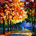 September by Leonid Afremov