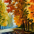 September Morning by Leonid Afremov