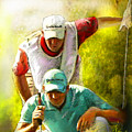 Sergio Garcia In The Madrid Masters by Miki De Goodaboom