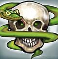 Serpent N Skull by Kevin Middleton
