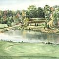 Seventeen Green The Trails Golf Course by Lane Owen