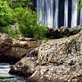 Shady Lake Falls by Lana Trussell