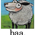 Sheep Poster by Tim Nyberg