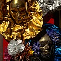 Shiny Masks In Venice by Michael Henderson