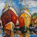 Ships In Repair by Min Wang