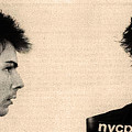 Sid Vicious Mugshot by Bill Cannon