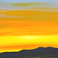 Sierra Foothills Sunrise by Frank Wilson