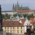Sight At Prague by Yury Bashkin