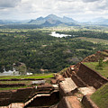 Sigiriya Ruins by Jane Rix