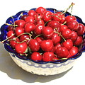 Simply A Bowl Of Cherries by Carol Groenen