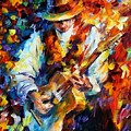 Sing My Guitar by Leonid Afremov