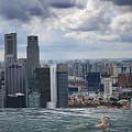 Singapore Swimmer by Nina Papiorek