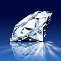 Single Blue Diamond by Setsiri Silapasuwanchai