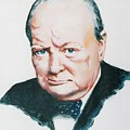 Sir Winston Churchill by Barry Smith
