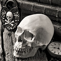 Skull And Skeleton Key by Garry Gay