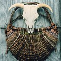 Skull Basket by Stephen Hawks