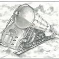 Skyward Train by Julian  B