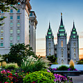 Slc Temple Js Building by La Rae  Roberts