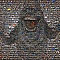 Slimer Mosaic by Paul Van Scott