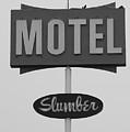 Slumber Motel Merced Ca by Troy Montemayor