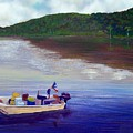 Small Fishing Boat by Tony Rodriguez