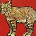 Smug Bobcat by Carol Suzanne Niebuhr